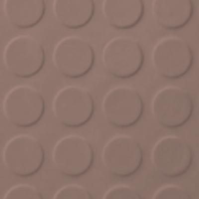 Roppe Rubber Tile 900 - Low Profile Raised Circular Design (992) Spice 992P167