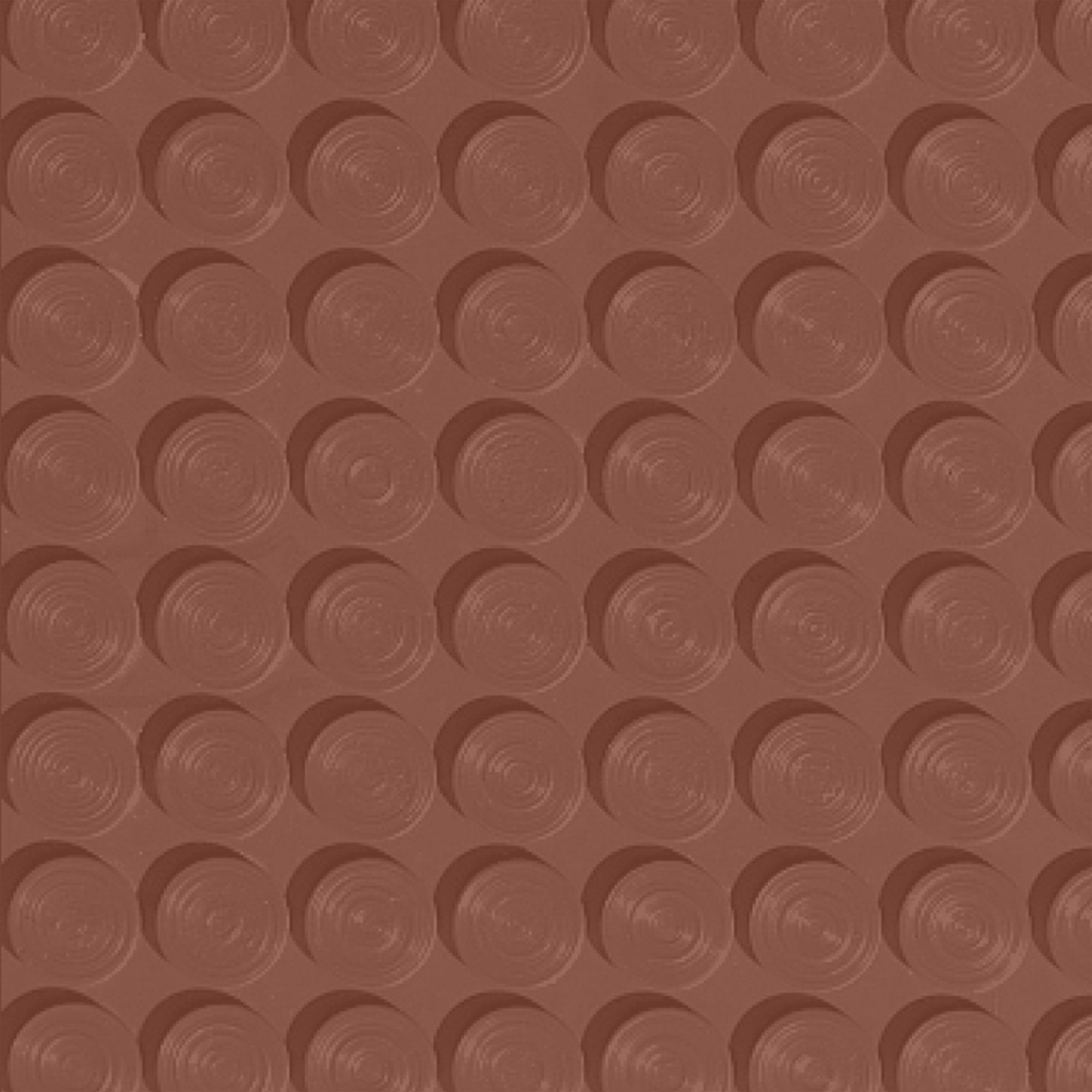 Roppe Rubber Tile 900 - Lug Back Vantage Design (LB996) Brick LB996188