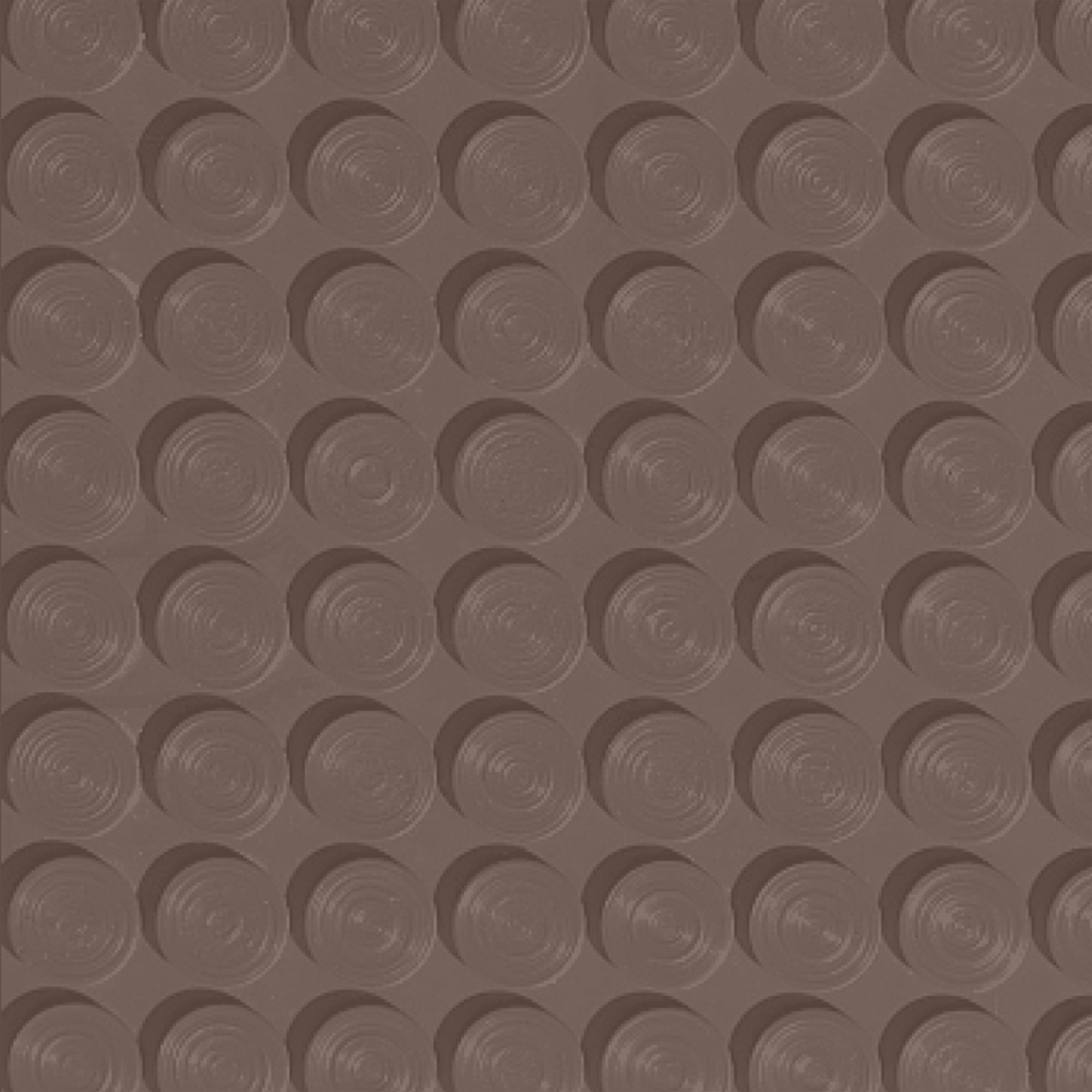 Roppe Rubber Tile 900 - Lug Back Vantage Design (LB996) Toffee LB996182