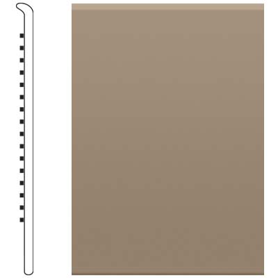 Roppe Pinnacle Rubber No Toe Base 3-1/2 Sand Stone 171