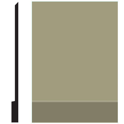 Roppe Pinnacle Plus Wall Base 00 Simplicity Moss 116