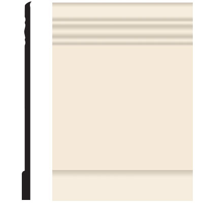 Roppe Pinnacle Plus Wall Base 10 Serenity Bisque 131