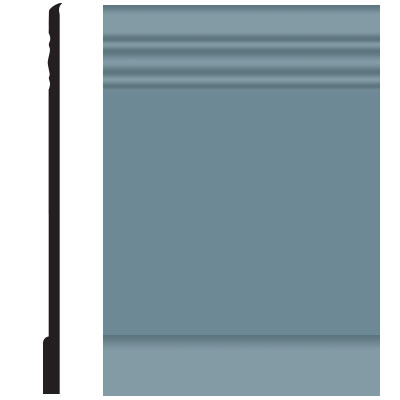 Roppe Pinnacle Plus Wall Base 10 Serenity Colonial Blue 165