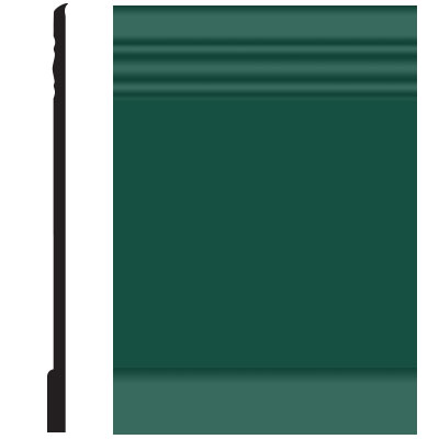 Roppe Pinnacle Plus Wall Base 10 Serenity Forest Green 160