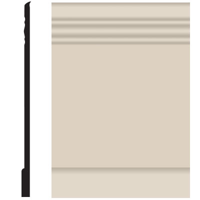 Roppe Pinnacle Plus Wall Base 10 Serenity Ivory 198