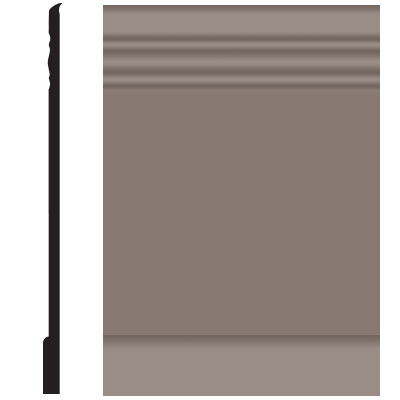 Roppe Pinnacle Plus Wall Base 10 Serenity Taupe 124