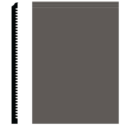 Roppe Pinnacle Plus Wall Base 65 Vertical Burnt Umber 194