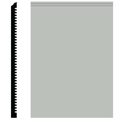 Roppe Pinnacle Plus Wall Base 65 Vertical Light Gray 195