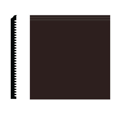 Roppe Pinnacle Plus Wall Base 75 Level Brown 110