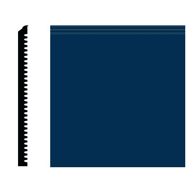 Roppe Pinnacle Plus Wall Base 75 Level Deep Navy 139