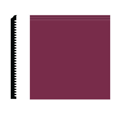 Roppe Pinnacle Plus Wall Base 75 Level Plum 620