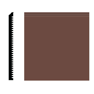 Roppe Pinnacle Plus Wall Base 75 Level Russet 181