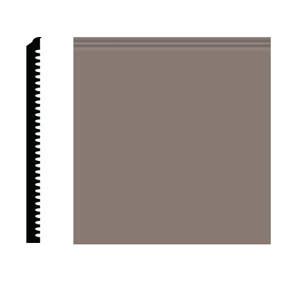 Roppe Pinnacle Plus Wall Base 75 Level Taupe 124