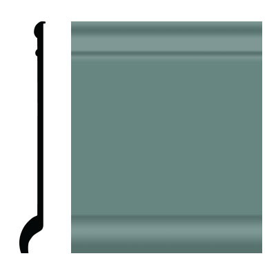 Roppe Pinnacle Plus Wall Base 90 Intrique Hunter Green 169