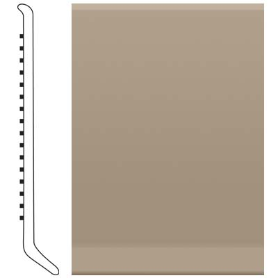 Roppe Pinnacle Rubber Wall Base 2 1/2 (Cove Base) Fig 125