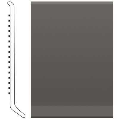 Roppe Pinnacle Rubber Wall Base 3 (Cove Base) Burnt Umber 194