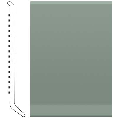 Roppe Pinnacle Rubber Wall Base 3 (Cove Base) Pistachio 113