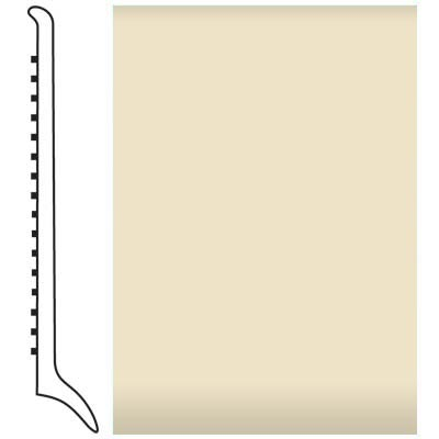 Roppe Pinnacle Rubber Wall Base 4 (Long Toe Base) Almond 184
