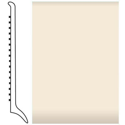 Roppe Pinnacle Rubber Wall Base 4 (Long Toe Base) Bisque 131