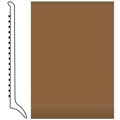 Roppe Pinnacle Rubber Wall Base 4 (Long Toe Base) Bronze 625