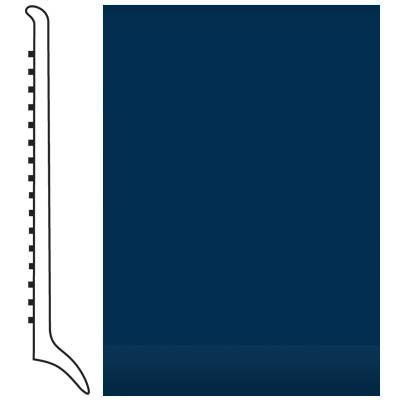 Roppe Pinnacle Rubber Wall Base 4 (Long Toe Base) Deep Navy 139