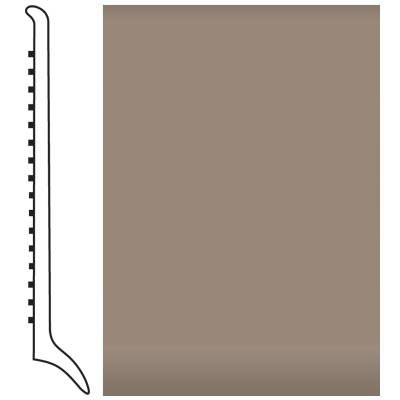 Roppe Pinnacle Rubber Wall Base 4 (Long Toe Base) Fawn 140