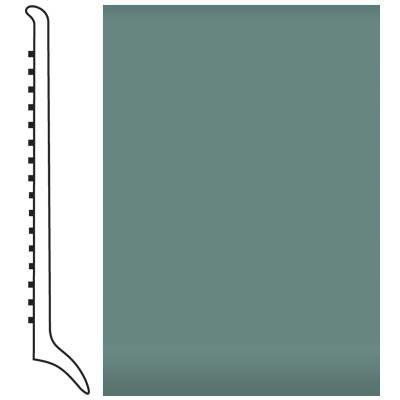 Roppe Pinnacle Rubber Wall Base 4 (Long Toe Base) Hunter Green 169