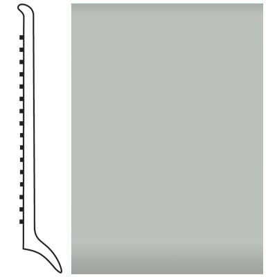 Roppe Pinnacle Rubber Wall Base 4 (Long Toe Base) Light Gray 195