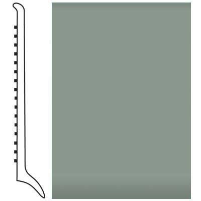 Roppe Pinnacle Rubber Wall Base 4 (Long Toe Base) Pistachio 113