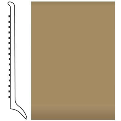 Roppe Pinnacle Rubber Wall Base 4 (Long Toe Base) Sahara 631