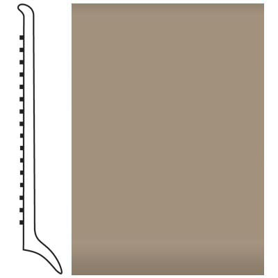 Roppe Pinnacle Rubber Wall Base 4 (Long Toe Base) Sandstone 171