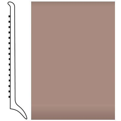 Roppe Pinnacle Rubber Wall Base 4 (Long Toe Base) Spice 167
