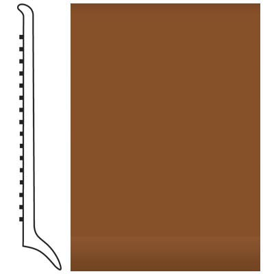 Roppe Pinnacle Rubber Wall Base 4 (Long Toe Base) Tan 120