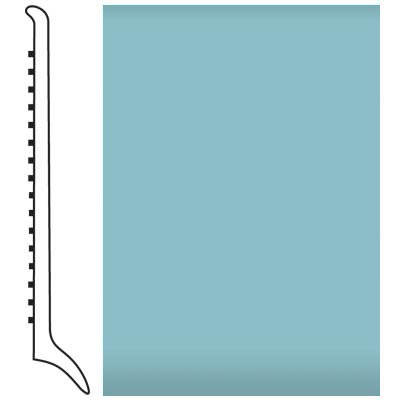 Roppe Pinnacle Rubber Wall Base 4 (Long Toe Base) Turquoise 146