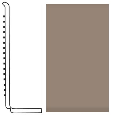 Roppe Pinnacle Rubber Wall Base 4 (Sanitary Toe Base) Fig 125