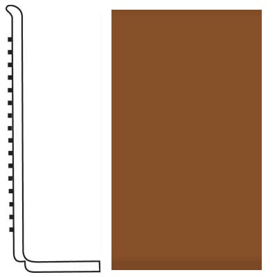 Roppe Pinnacle Rubber Wall Base 4 (Sanitary Toe Base) Tan 120