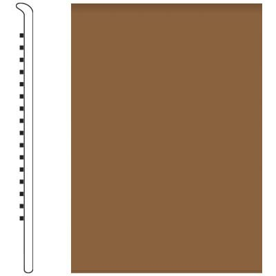 Roppe Pinnacle Rubber Wall Base 5 No Toe Base Bronze 625