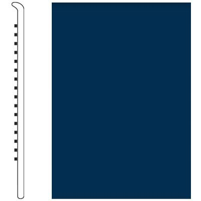 Roppe Pinnacle Rubber Wall Base 5 No Toe Base Deep Navy 139