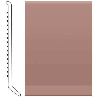 Roppe Pinnacle Rubber Wall Base 5 (Cove Base) Golden Honey 133