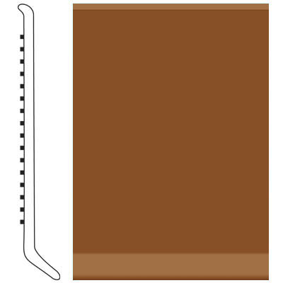 Roppe Pinnacle Rubber Wall Base 5 (Cove Base) Tan 120