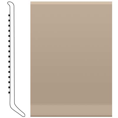 Roppe Pinnacle Rubber Wall Base 6 (Cove Base) Sandstone 171