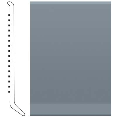 Roppe Pinnacle Rubber Wall Base 6 (Cove Base) Steel Blue 177