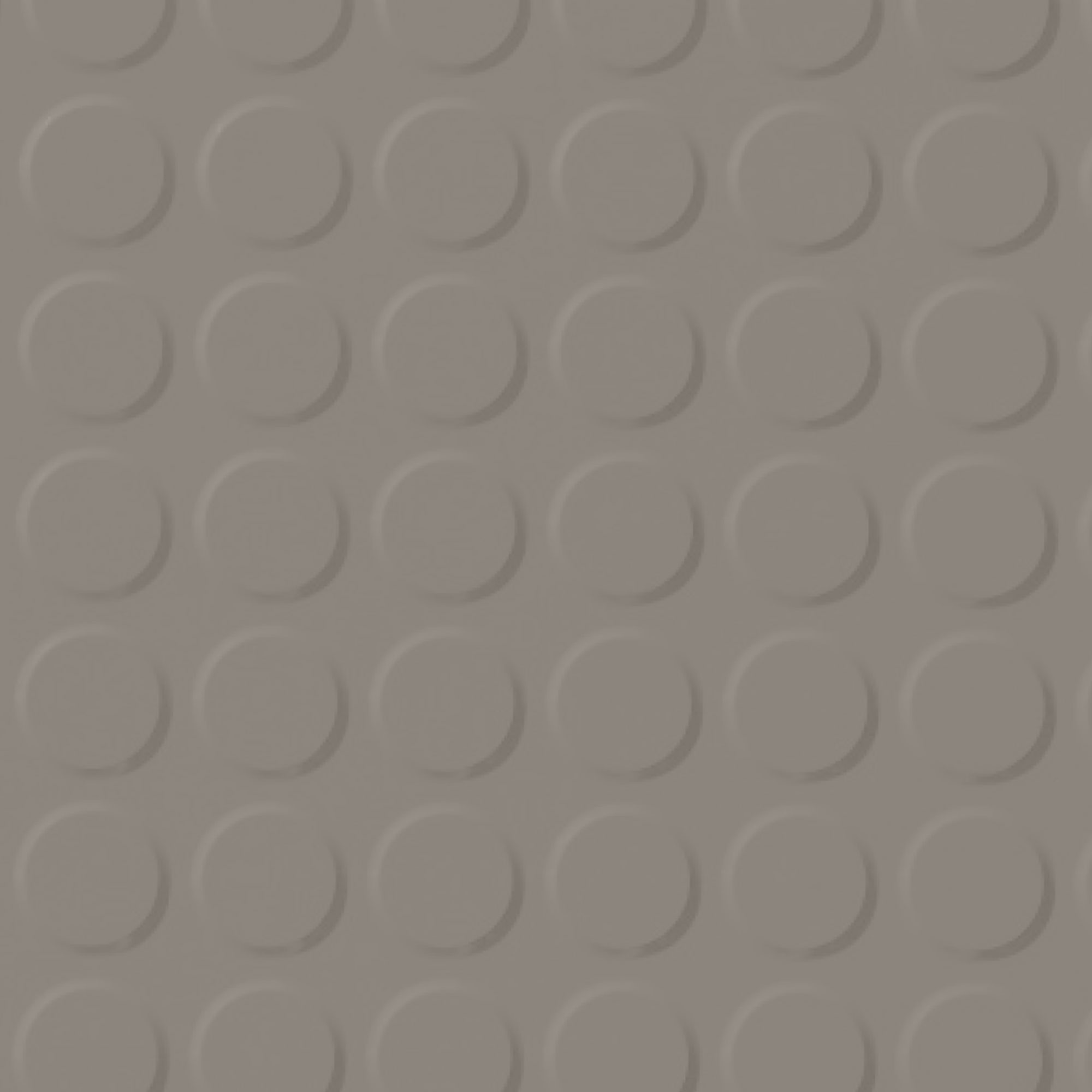 Roppe Rubber Tile 900 - Vantage Raised Circular Design (996) Pewter 178