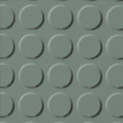 Roppe Rubber Tile 900 - Vantage Raised Circular Design (996) Pistachio 113