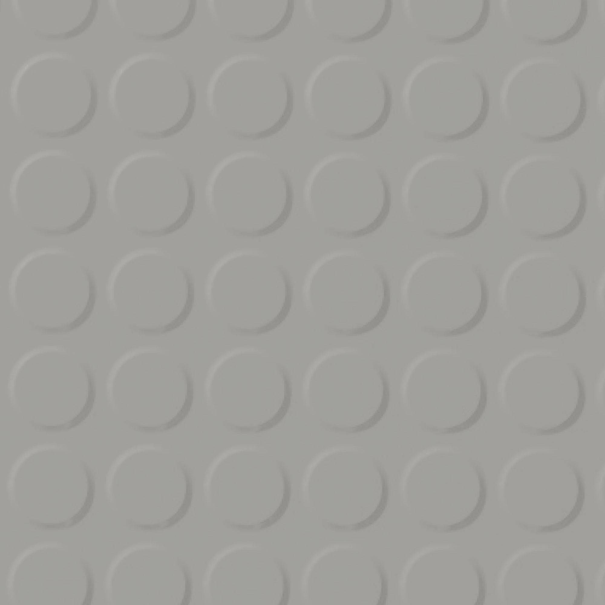 Roppe Rubber Tile 900 - Vantage Raised Circular Design (996) Smoke 174