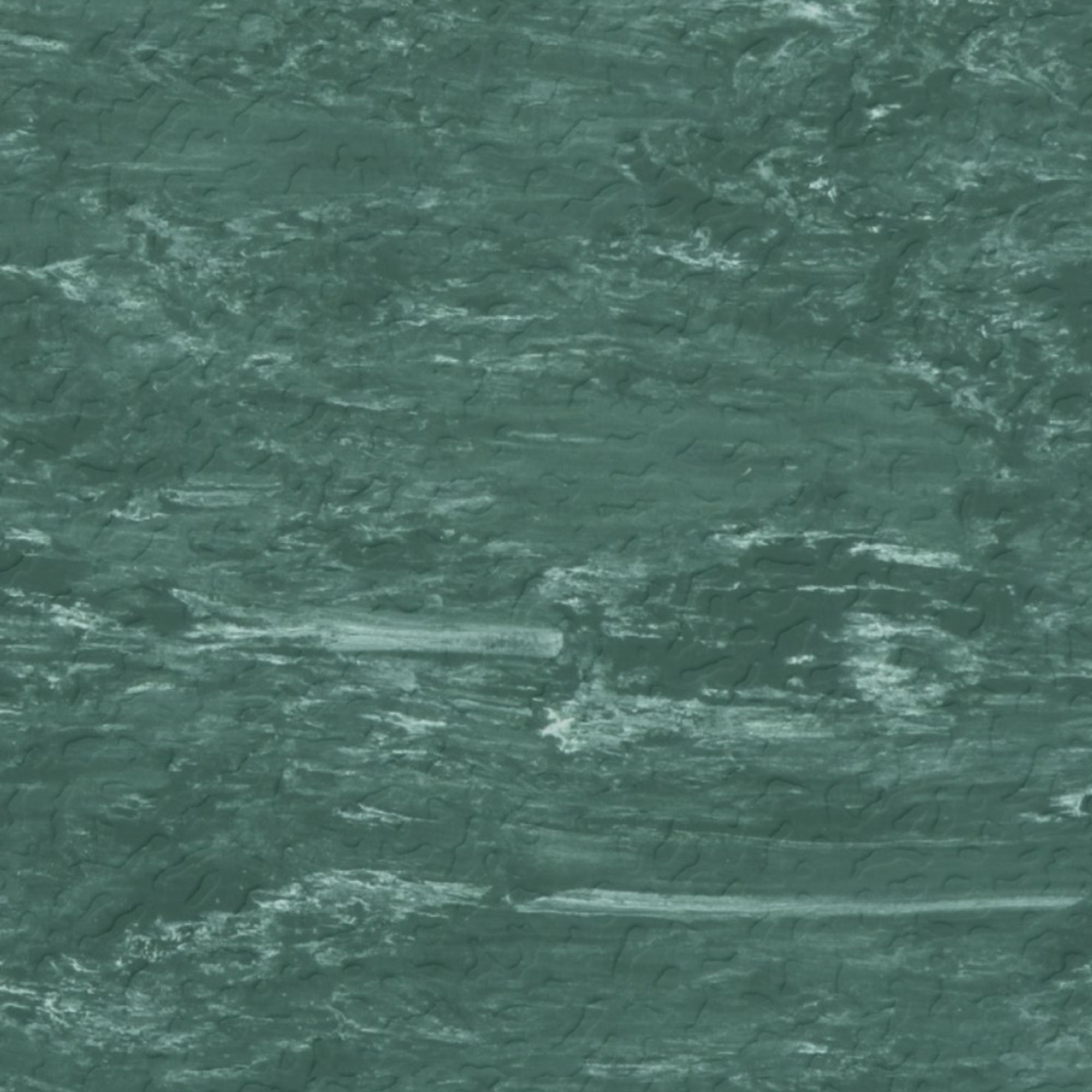 Roppe Raised Design Marbleized Hammered Forest Green