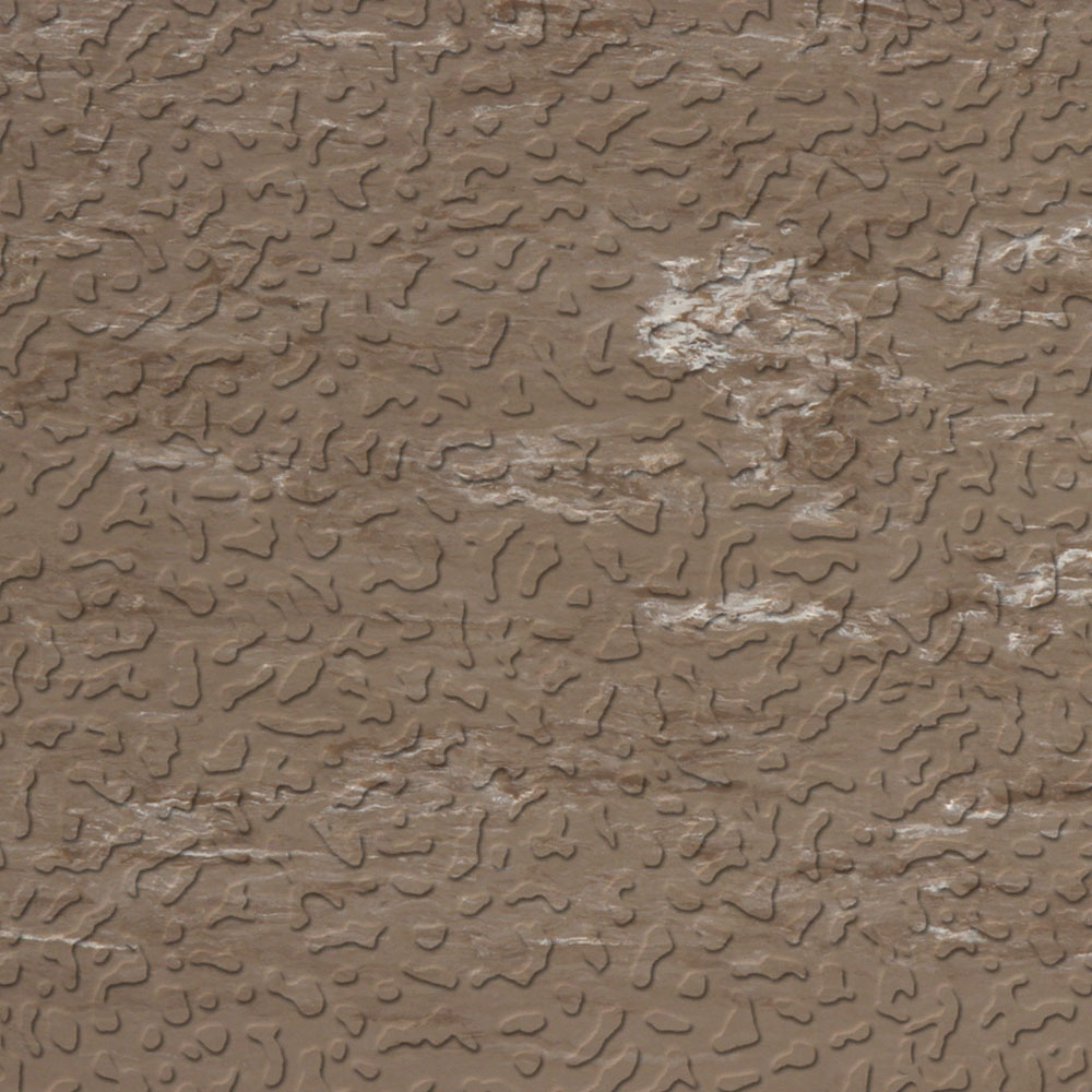 Roppe Raised Design Marbleized Textured Taupe