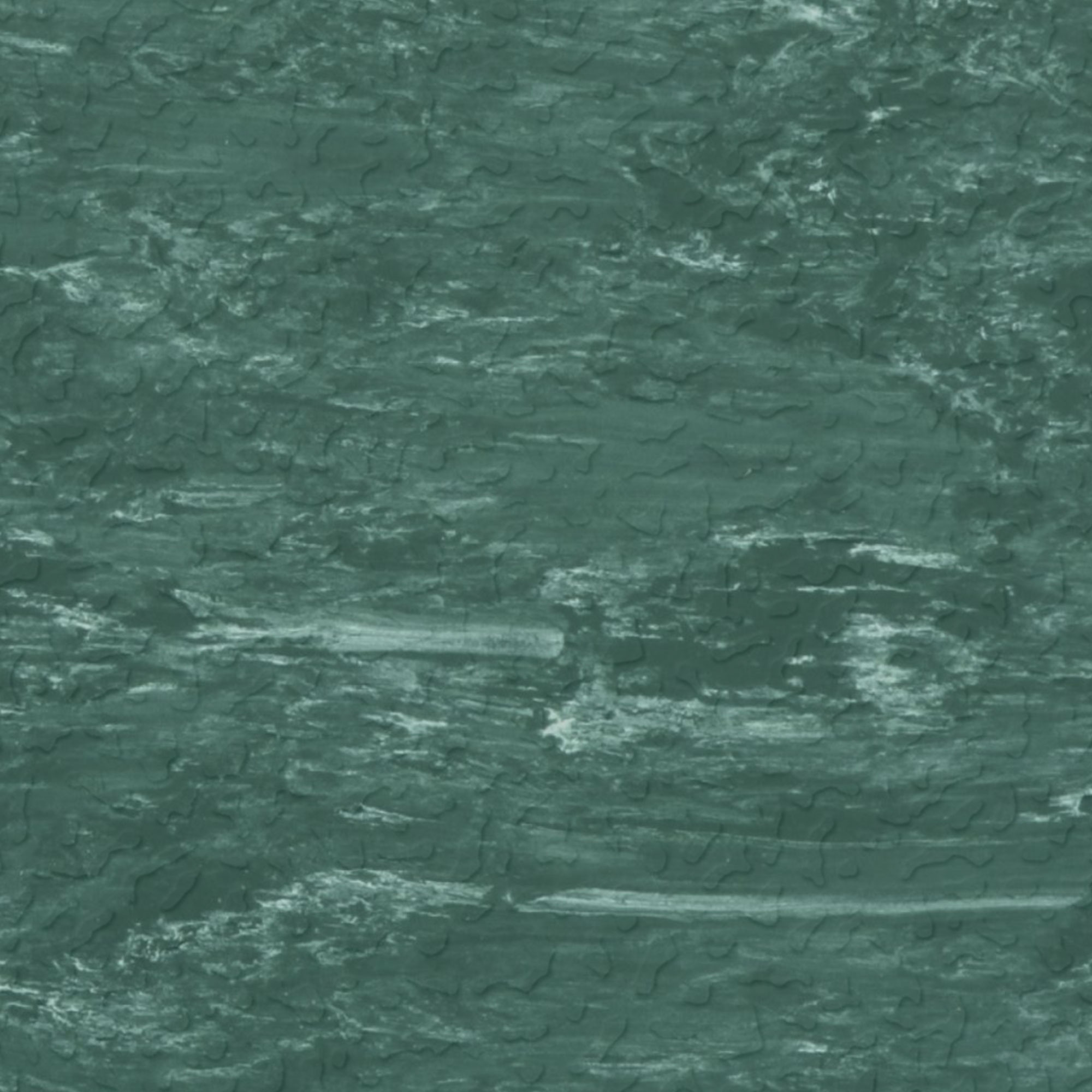 Roppe Raised Design Marbleized Textured Forest Green
