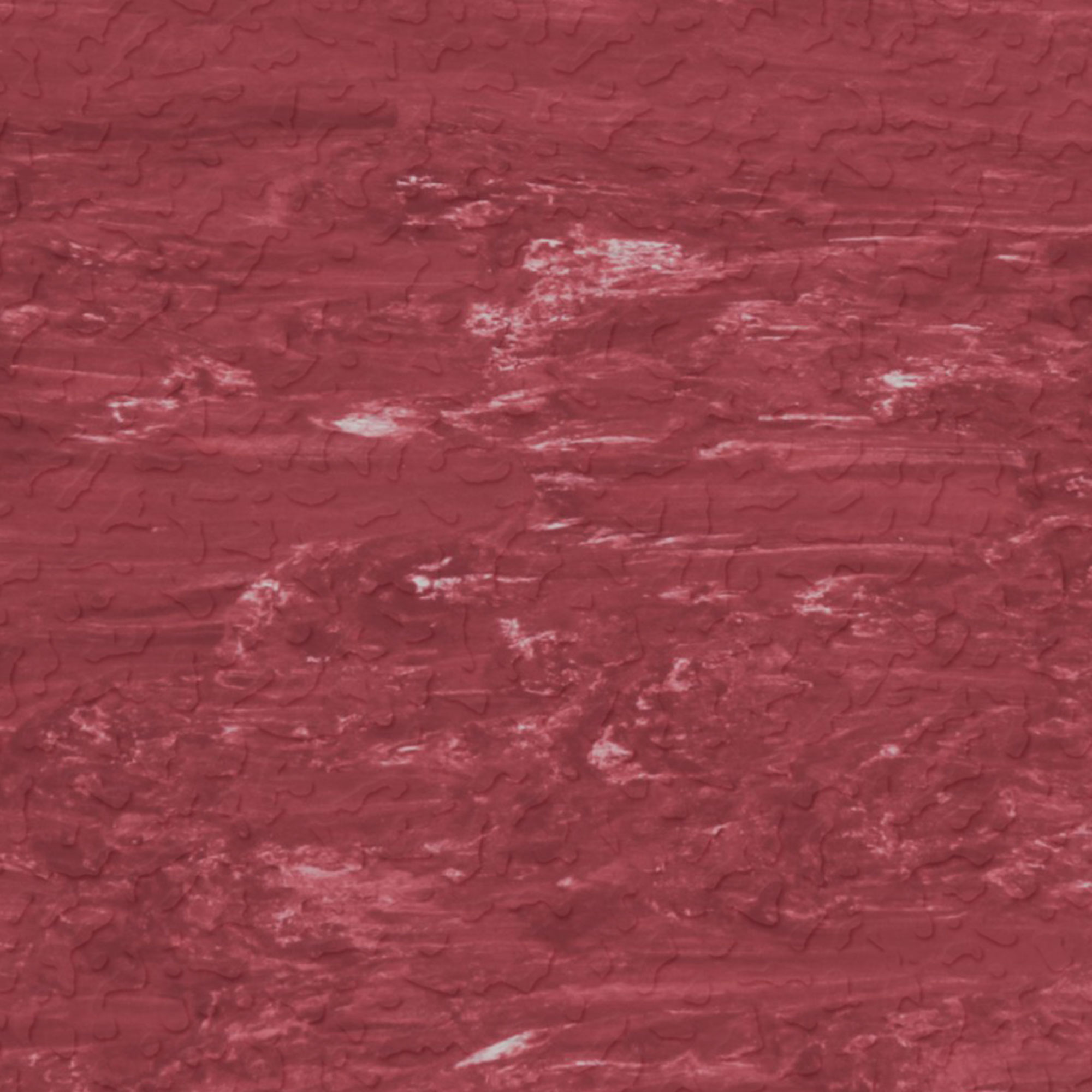 Roppe Raised Design Marbleized Textured Red