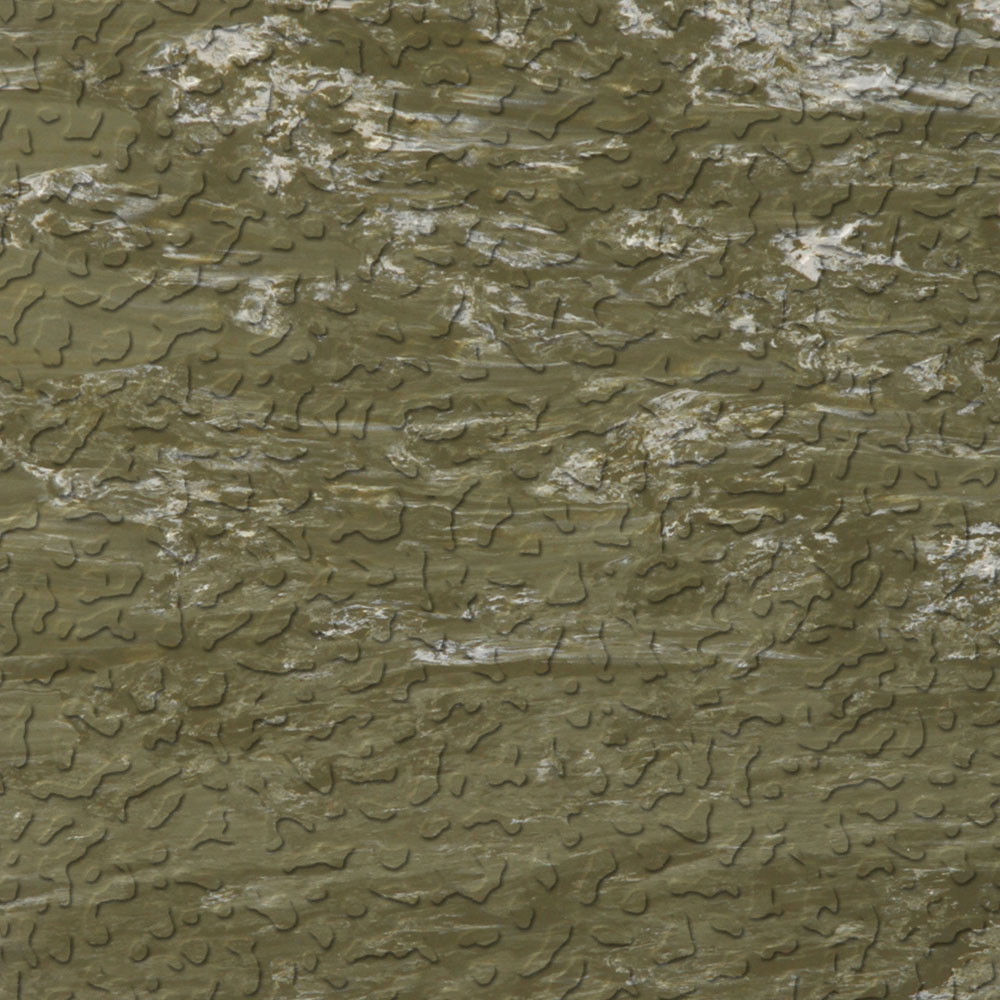 Roppe Raised Design Marbleized Textured Olive